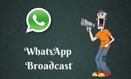 WhatsApp Broadcasting
