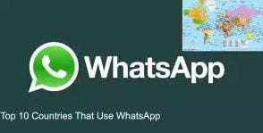 Countries Use WhatsApp