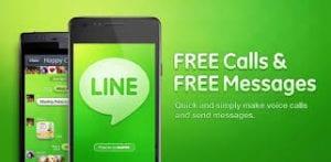 LINE instant messaging