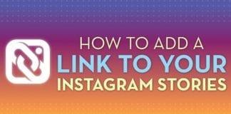 Add Links to Instagram Stories