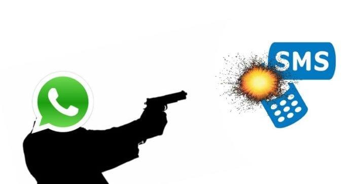 WhatsApp Is Killing SMS Texting