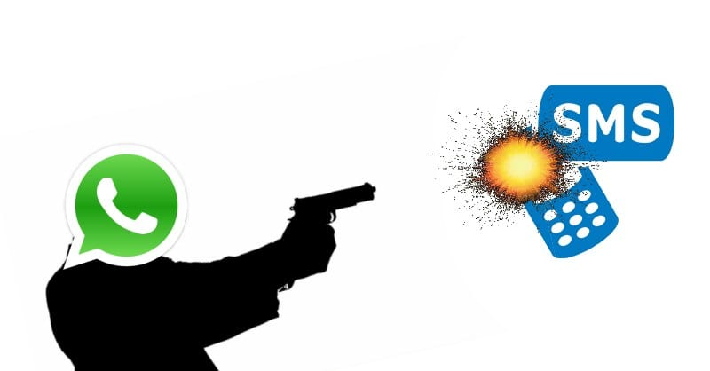 WhatsApp Is Killing SMS Texting