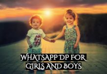 WHATSAPP dp for girls and boys