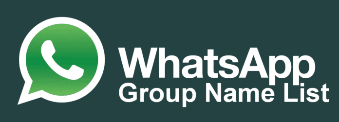 Best Whatsapp Group Names List