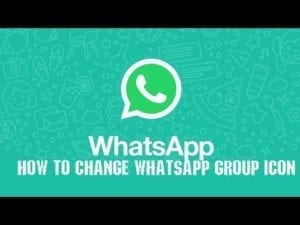 Change WhatsApp Group Picture