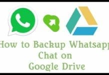 Download WhatsApp Database from Google Drive