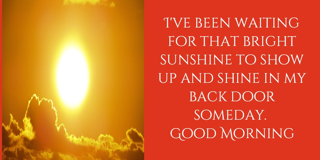 sunshine good morning images free download