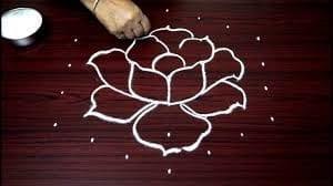Dotted Rangoli Designs for Diwali