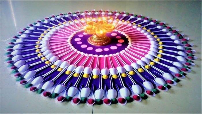 Special Rangoli Designs for Diwali
