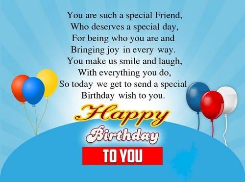 Best friend birthday greeting bulkq best friend birthday greeting m4hsunfo