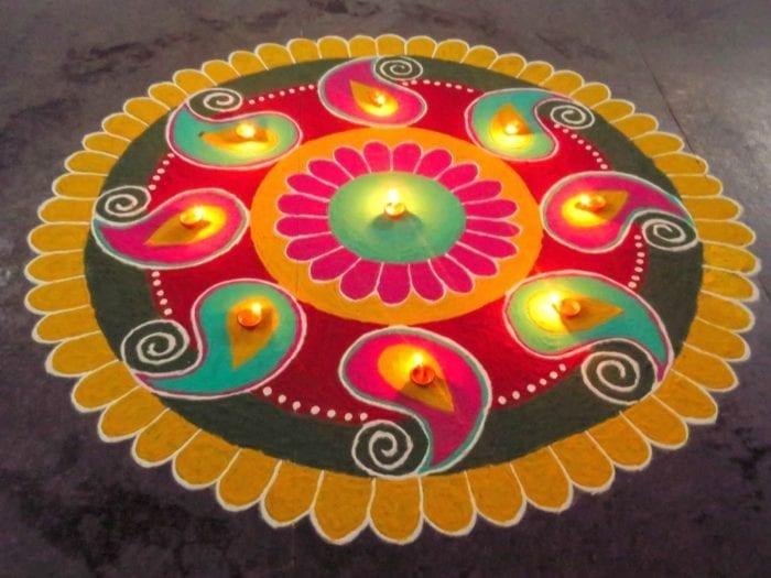 Best Rangoli Designs for Diwali