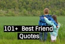 101 + best friend quotes
