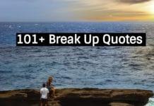 101 break up quotes