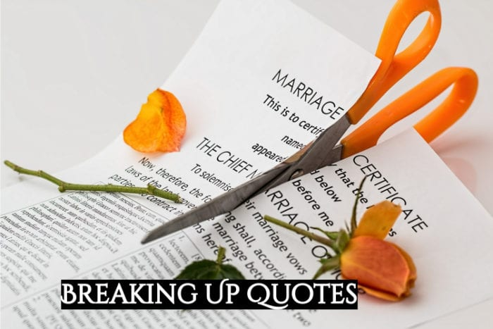 Breaking Up Quotes