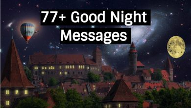 77 + Good Night Messages