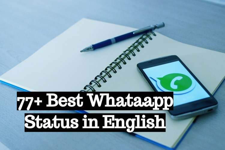 77+ best whatsapp status in english