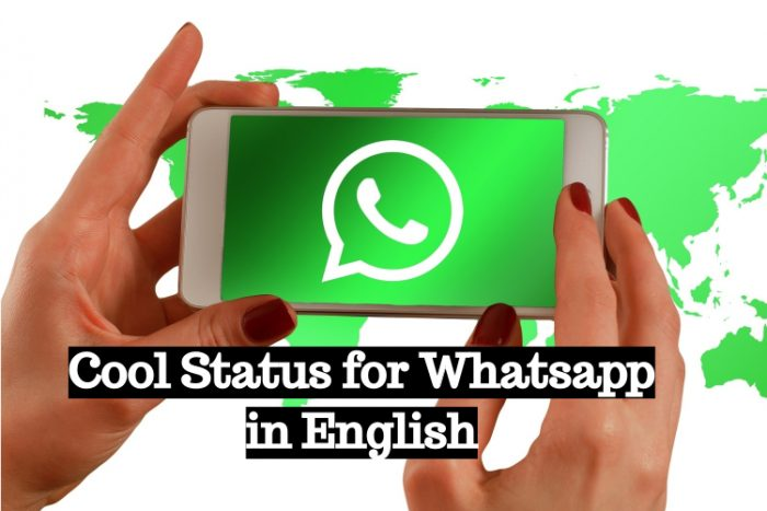 cool status for whatsapp in english