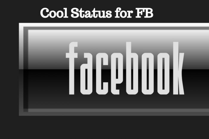 Cool Status for FB