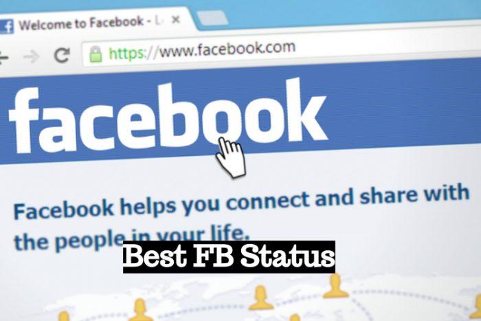 best fb status