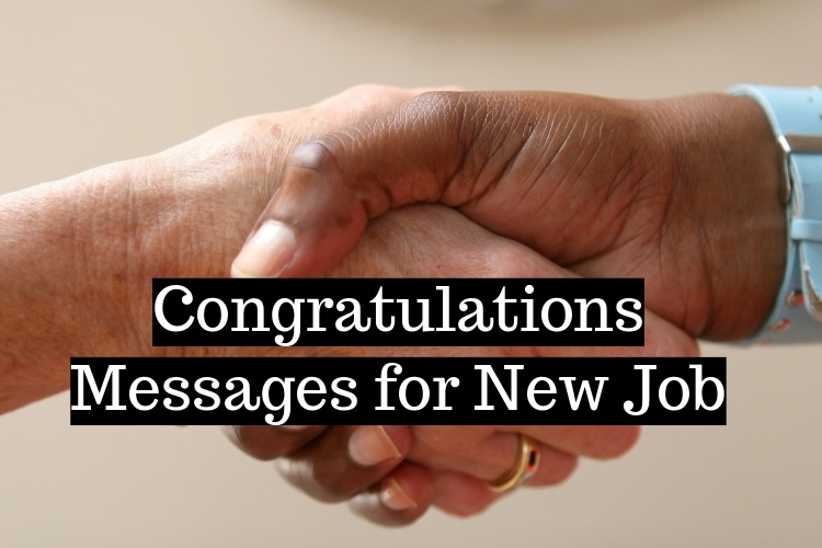 Congratulations Messages for New Job
